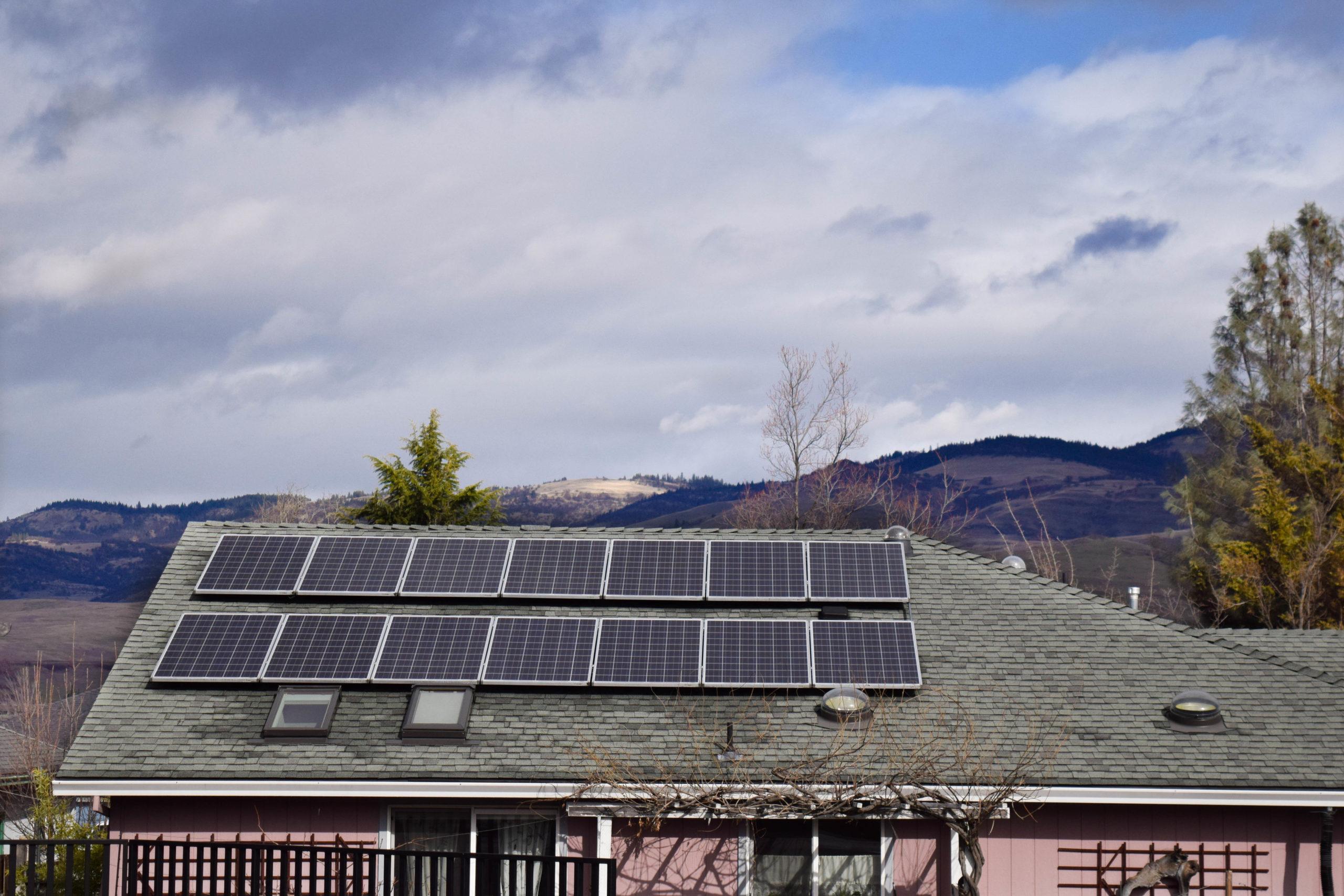 Ashland Solar roof